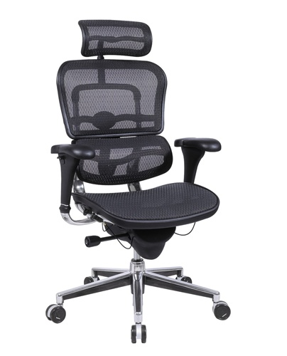 ME7ERG_Mesh Eurotech Ergo Mesh Ergonomic Chair w Headrest