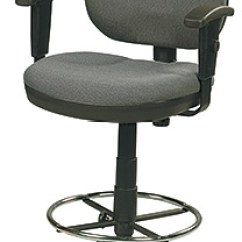 Drafting Office Chair Cover Video Eurotech Stool Oss 400 W Dsk500 Fabric By