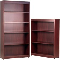 Faustinos Tall Bookcases in Mahogany, Cherry, Oak or ...
