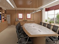 Conference Boardroom Tables with Power and Data modules