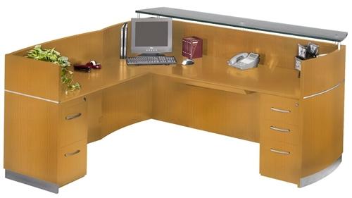 View our new NRSLBF Napoli Wood Lobby Desk Mayline Lobby
