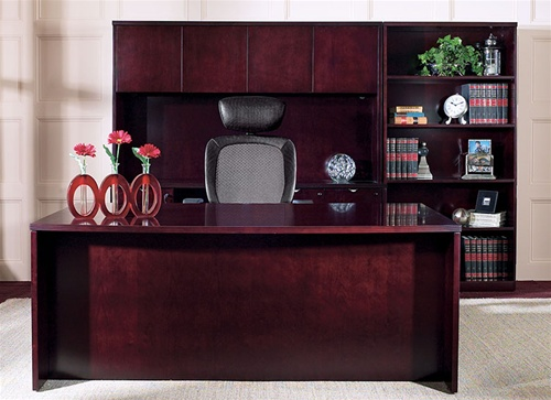 Kenwood Executive Office Furniture and Computer Desk in