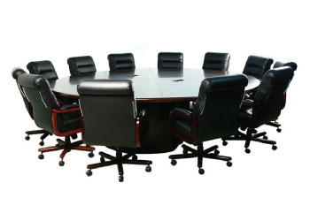 Faustinos Round Conference Tables for Executive Boardroom