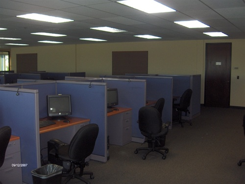 Used Call Center Cubicles with 42 High Panels Office