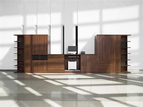 Global Zira AWH DeskWorkstation in Avant Honey by