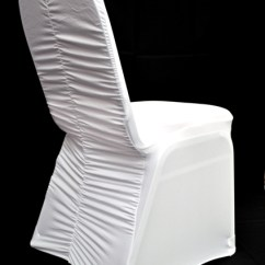Ruched Spandex Chair Cover Target Glider Cushions Banquet