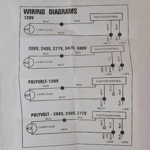 Light Ballast Wiring Diagram Also Mercury Vapor Light Wiring Diagram