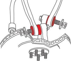 SPC Performance Adjustable Control Arm Bushings 66030