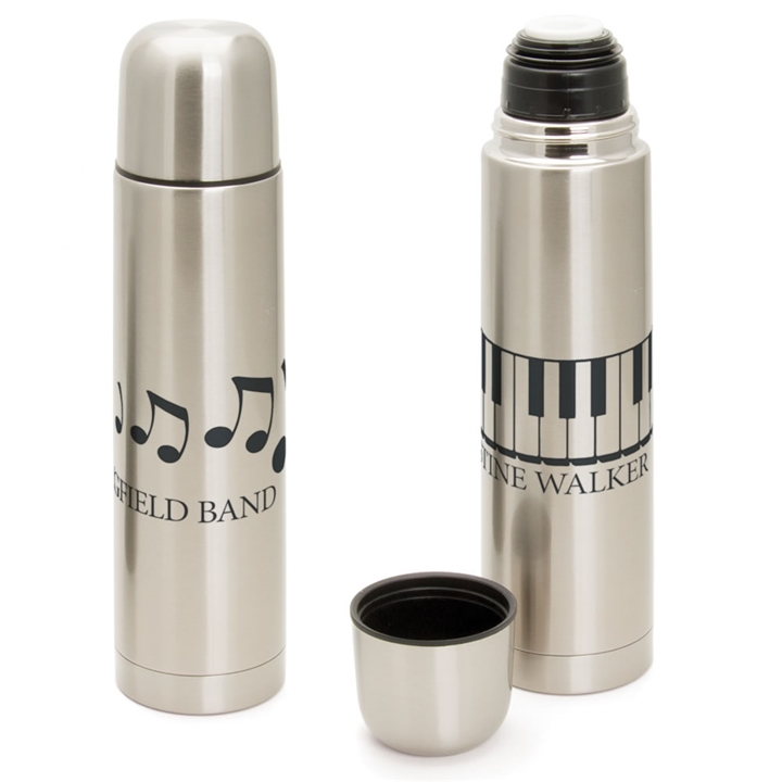 personalized music thermos