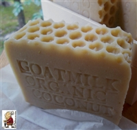 Fresh Goat and Coconut milk all Natural, Handmade with Honey And Oatmeal Soap Bar Gentle Exfoliate