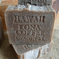 All Natural Coffee Soap- Kona coffee Artisan Soap Bar