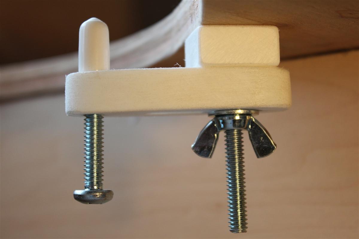 Hardware Kit for Adjustable Undermount Sink Installation