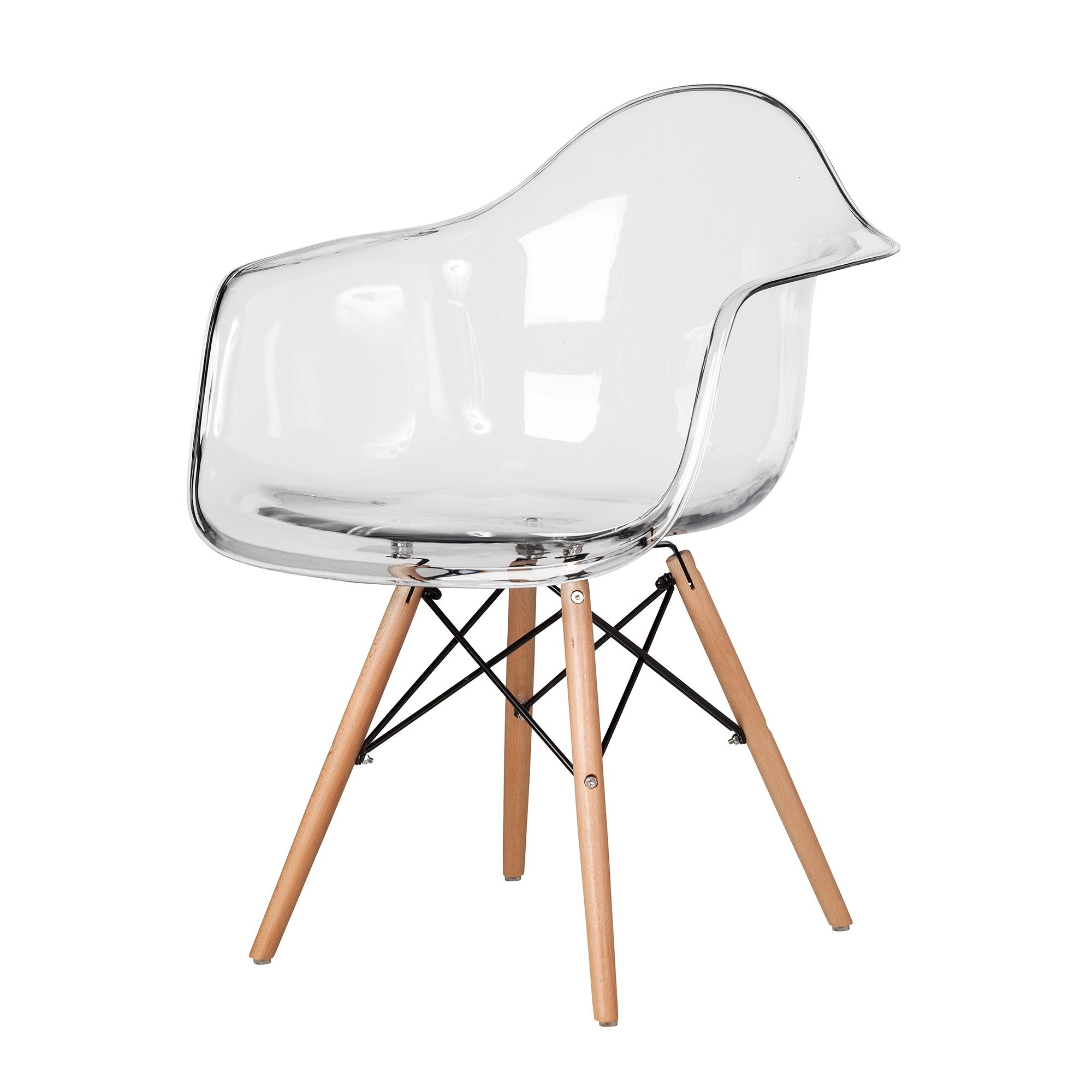 Kitchen Clear Eames Arm Chair The Khazana Home Austin