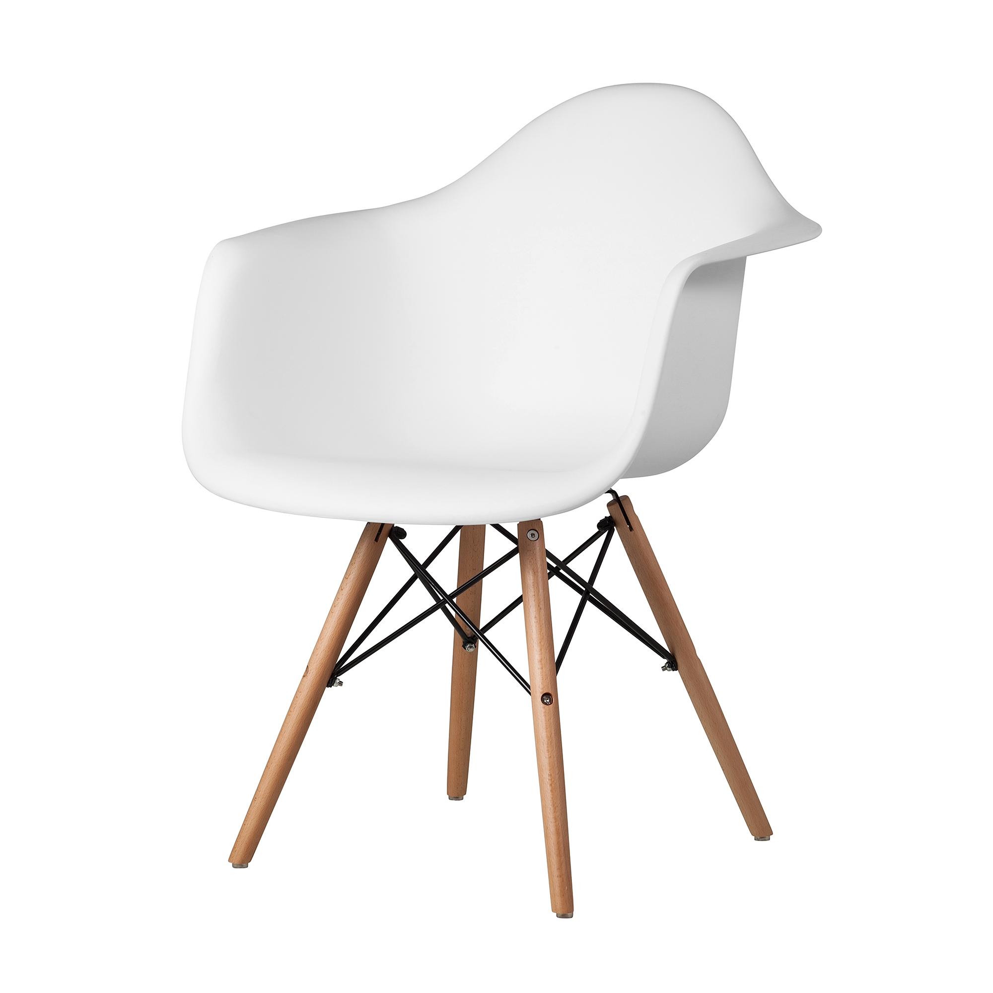 eames arm chair home goods accent chairs kitchen white the khazana austin furniture store