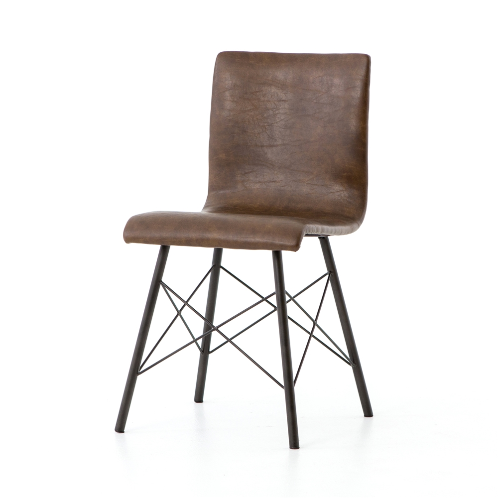 distressed dining chairs tattoo diaw chair in brown the khazana home austin furniture store