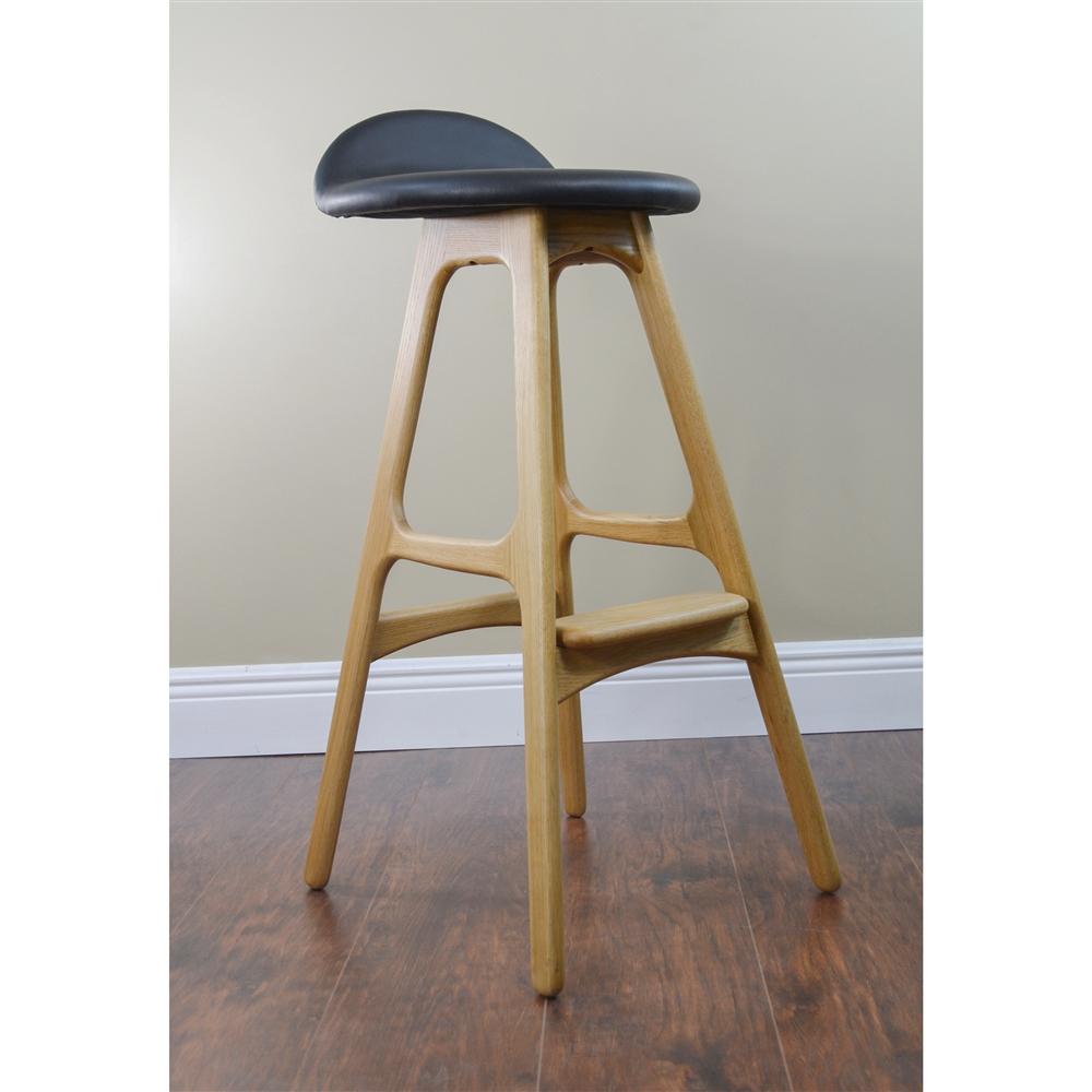 erik buck chairs hanging chair stand od mobler teak bar stool the khazana home austin