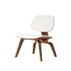 Lounge Chair Leather Who Sells Office Chairs Eames Style Molded Plywood White The Khazana Home Austin Furniture Store