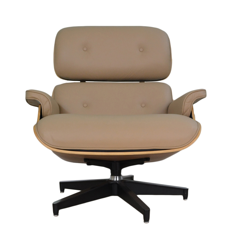 office chair ottoman swing baby best eames lounge beige the khazana home austin larger photo email a friend