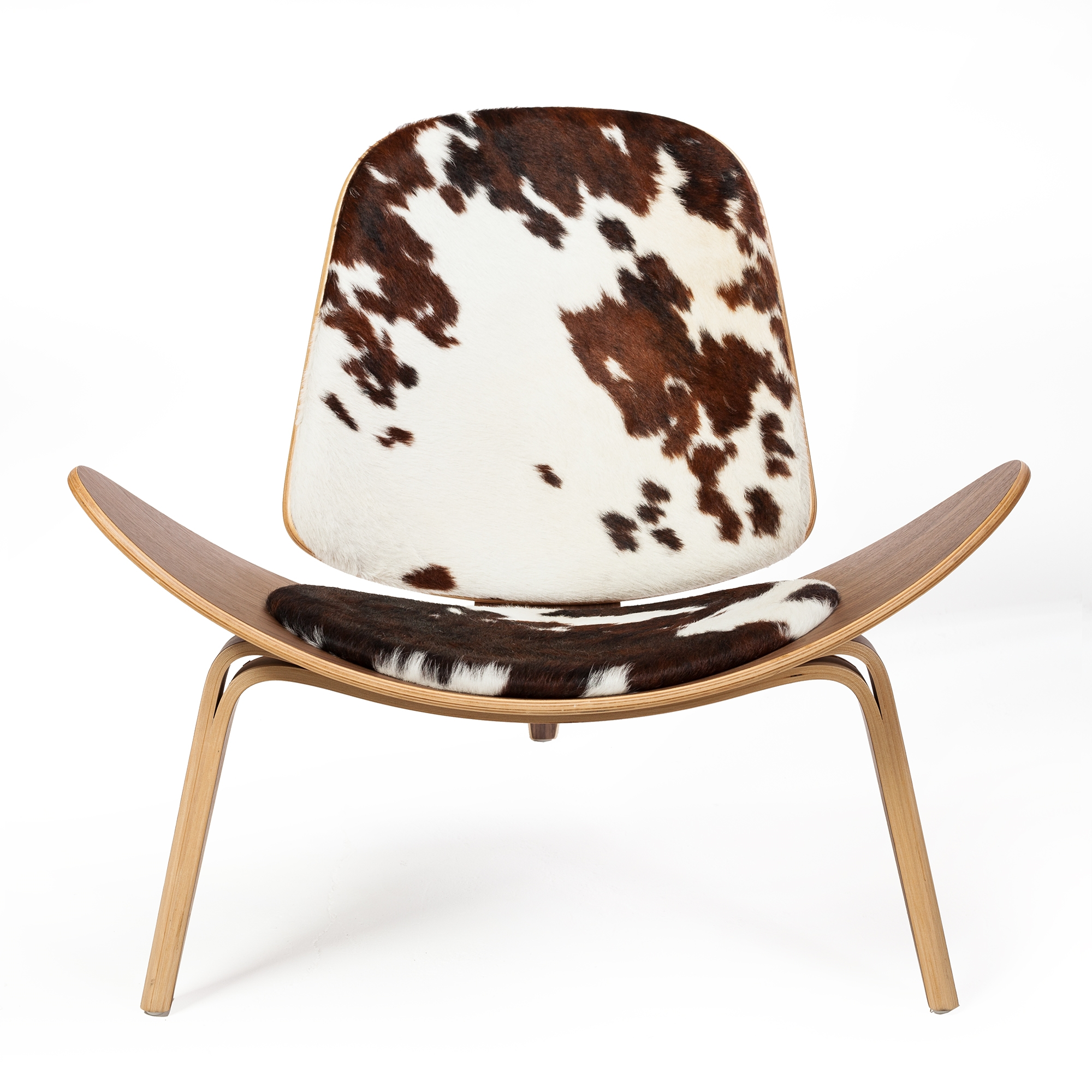Cow Hide Chair Athena 07 Lounge Chair In Cow Hide
