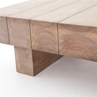 Wood Plank Coffee Table   Bindu Bhatia Astrology