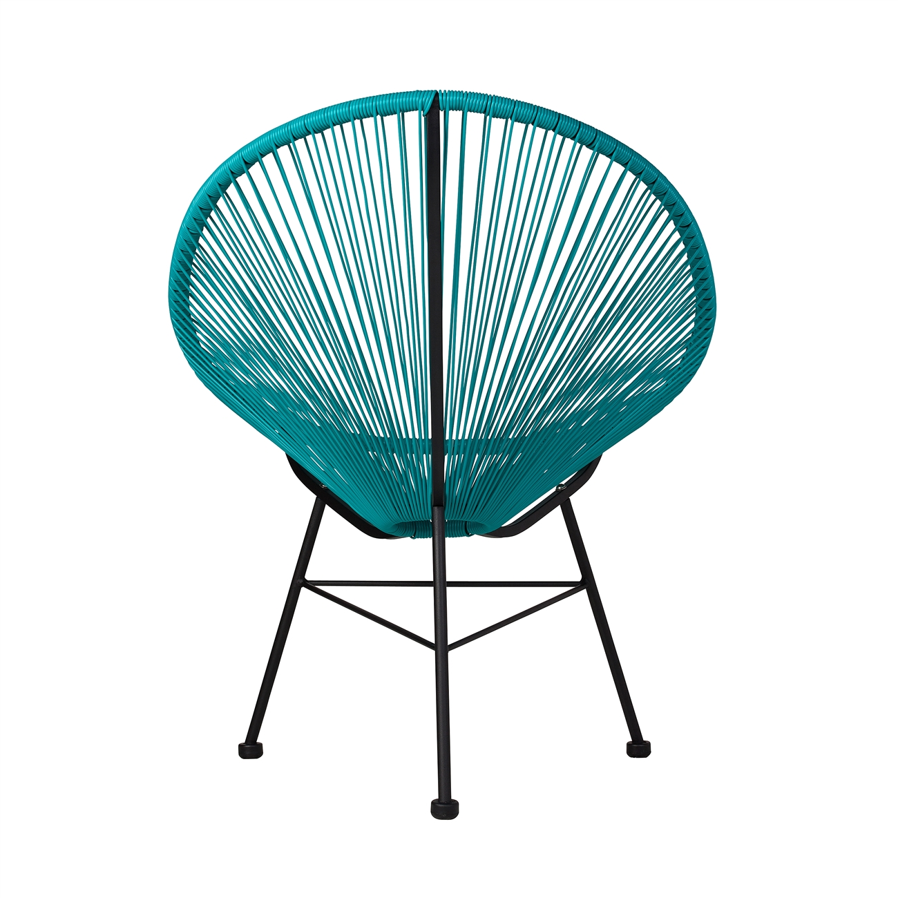 Acapulco Lounge Chair Acapulco Outdoor Lounge Chair Blue The Khazana Home