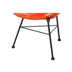 Acapulco Chair Orange Safety In Design Nsw Outdoor Lounge The Khazana Home
