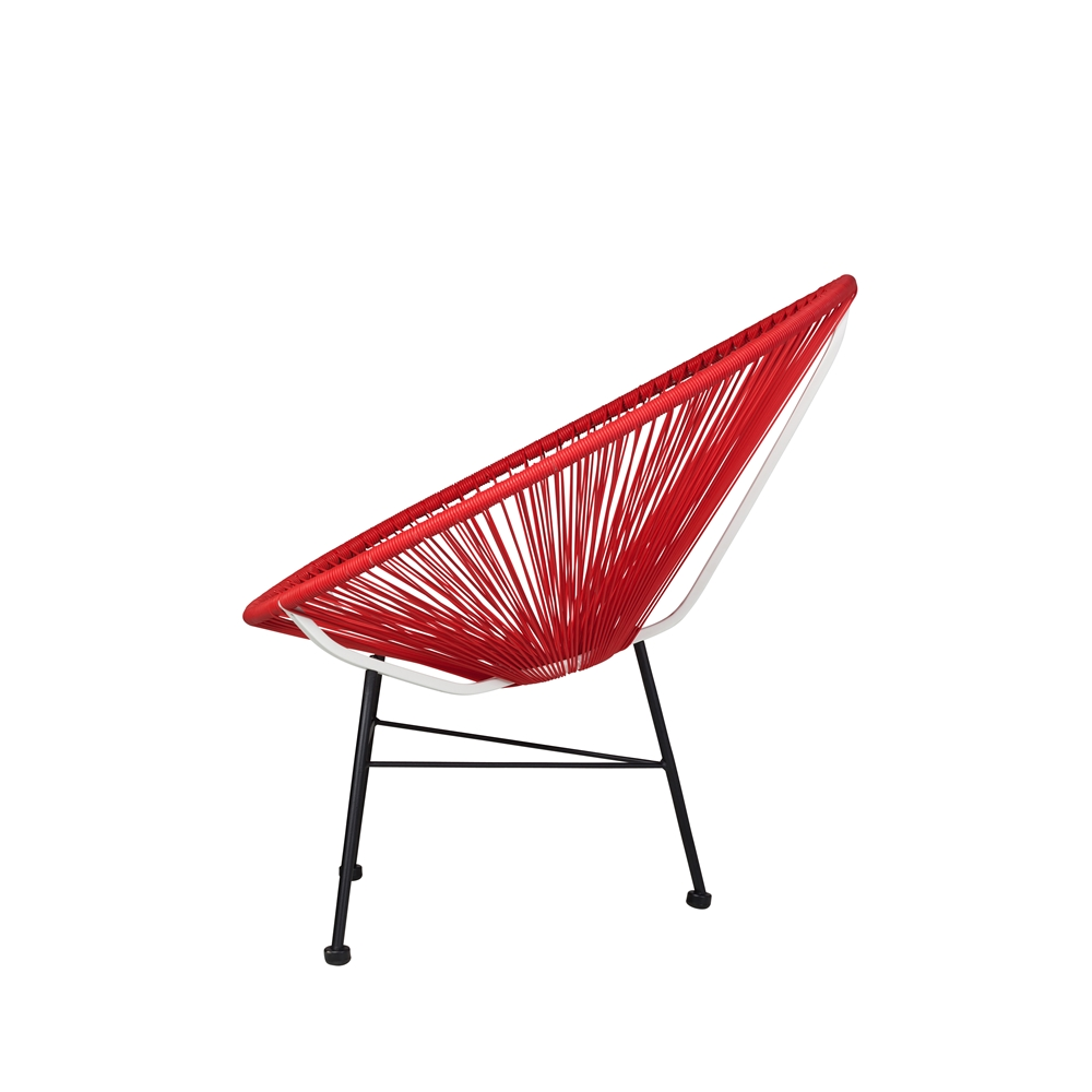 red lounge chair nice office chairs uk acapulco the khazana home austin furniture store