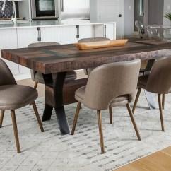 Mid Century Barrel Dining Chair Orange Living Room Chairs Modern Backed The Khazana Home