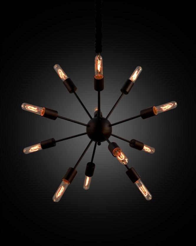 Sputnik Chandelier 12 Bulb