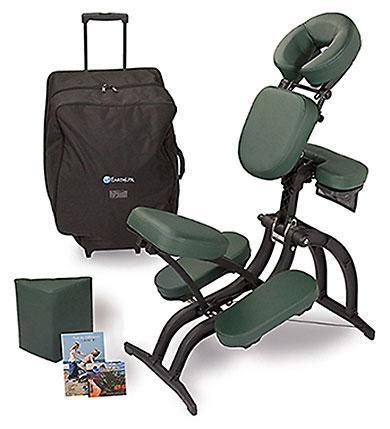 back massage chair silver chiavari chairs avila ii portable package earthlite