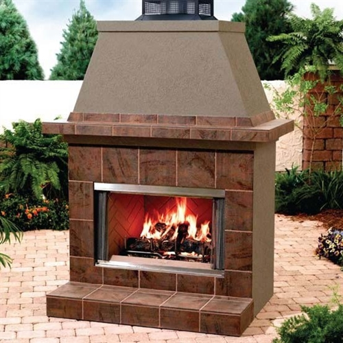 "Majestic Montana 36"" Outdoor Radiant Wood Fireplace"