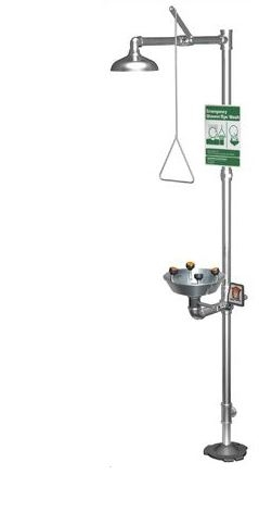 Guardian Equipment G1902PSSH Safety Shower Station With
