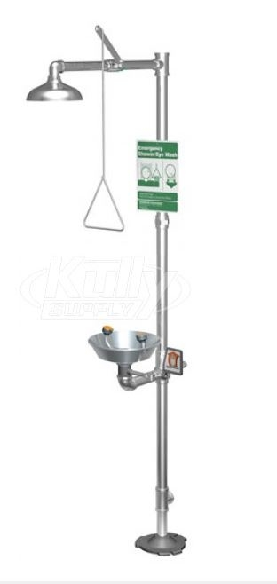 Guardian Equipment G1902SSH Safety Shower Station With Eye