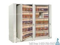 Rotary File Shelf Cabinet | Rotating Filing Shelves SMS-15 ...