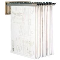 Pivoting Wall Mounted Plan Drawing Racks | Blueprint ...
