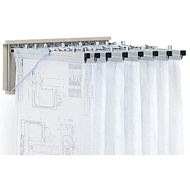 Hanging Blueprint Wall Rack  Engineer Drawing Storage