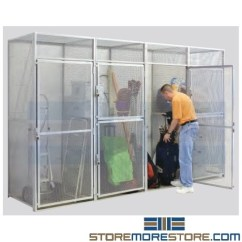 Leather Executive Office Chair Handicap Beach Bulk Storage Lockers Apartments Condominiums   Wire Mesh Cages ...