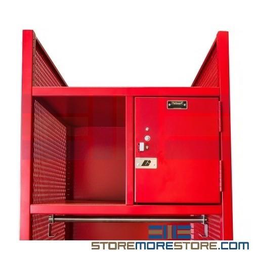 Turnout Gear Racks Firefighter Lockers Ventilated Drying Clothing  Fire Fighter Gear Locker