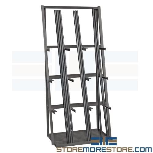 vertical pipe lumber storage rack 3 w x 2 d x 7 h sms 43 vbr 8436 95