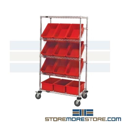 wire angled shelf rack 3 w x 1 6 d x 5 3 h sms 45 wrs 5 92080