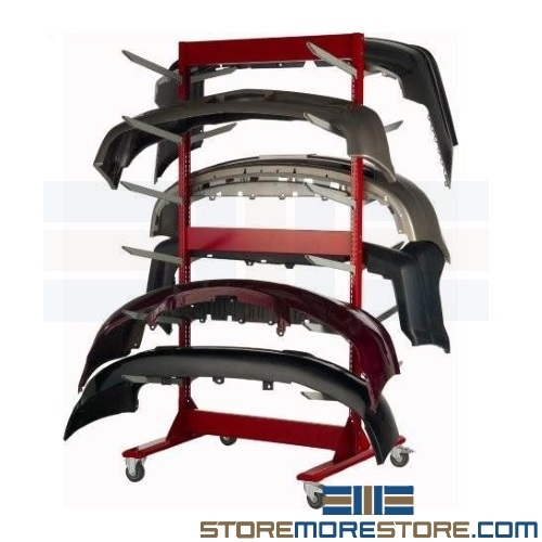 rolling bumper cover racks with casters 45 wide x 42 deep x 91 high sms 81 wma3512