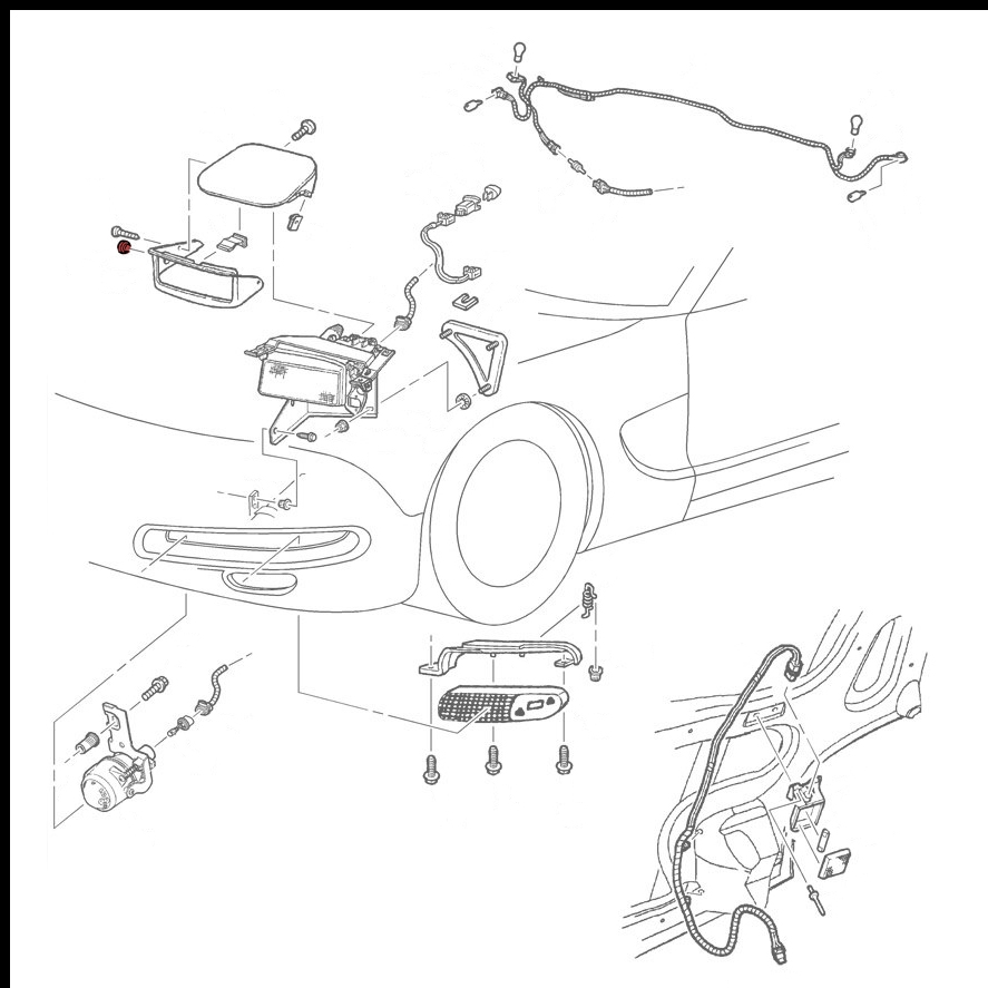 Capsule headlight trim plug gm part nos 10435410 10417504 rh smcautoparts club car solenoid wiring diagram diagrams of kawasaki carburetors