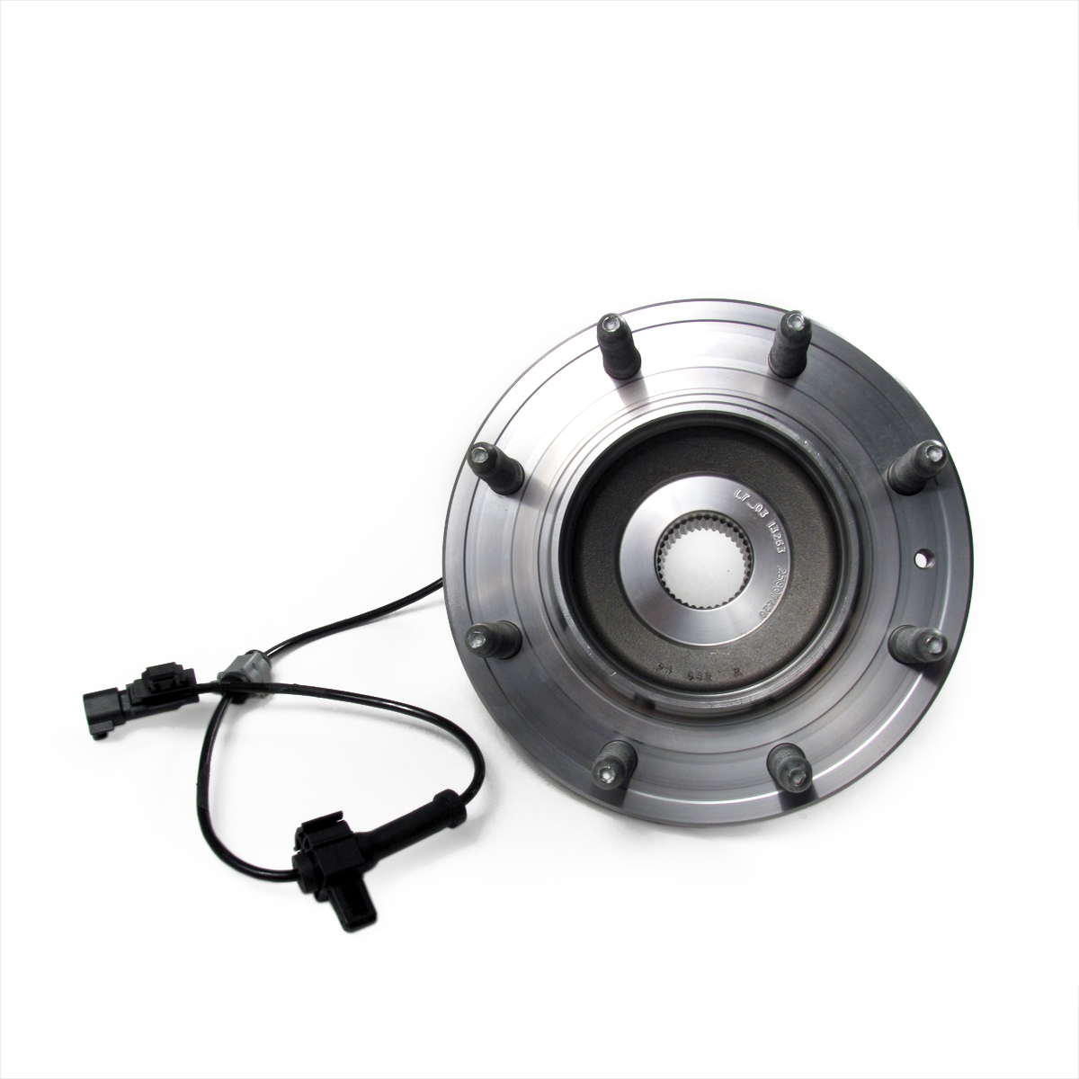 medium resolution of front wheel hub bearing assembly with speed sensor and wiring gm part nos 23203922 25807420 fw386