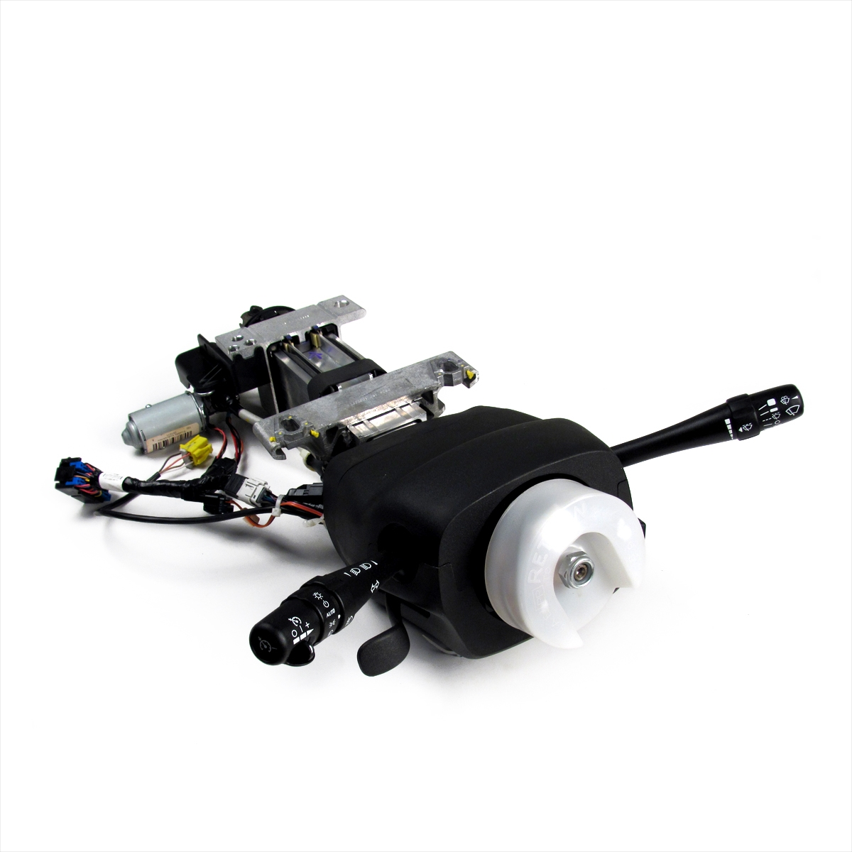 hight resolution of manual tilt power telescoping steering column assembly gm part no 25858234 smc performance and auto parts
