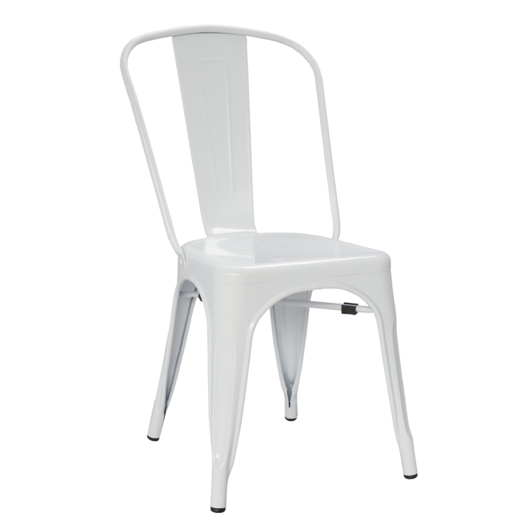 tolix side chair recliner chairs brisbane fine mod imports marais dining in white