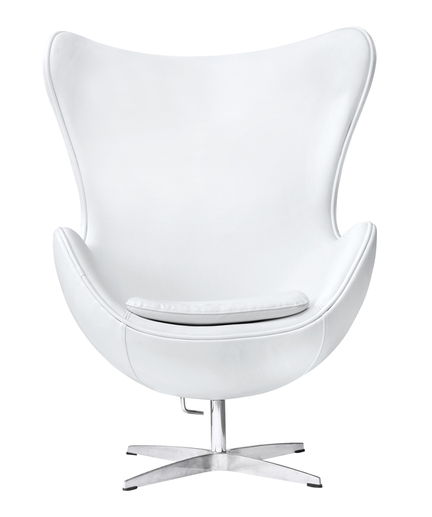 jacobsen egg chair leather pink princess email fine mod imports arne in white