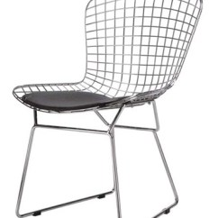 White Bertoia Side Chair Tub Chairs With Casters Our Price: $115.00