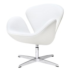 Arne Jacobsen Swan Chair Cheap Reclining Chairs Fine Mod Imports In White Leather