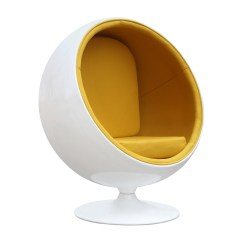 Ball Chairs Peacock Wicker Chair For Sale Fine Mod Imports Eero Aarnio Style Yellow Interior