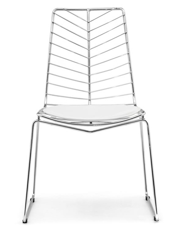 Wire Leaf Wendover Chair Bertoia Style